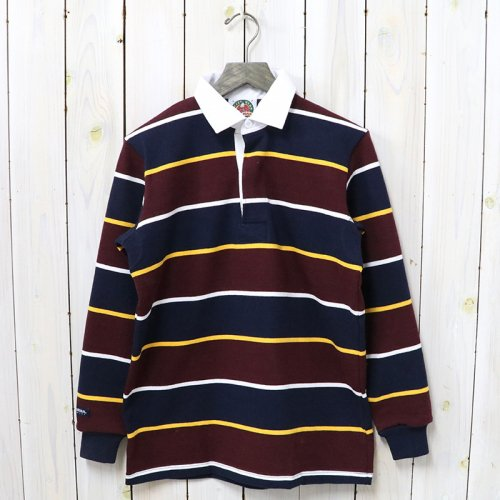 BARBARIAN『HEAVY WEIGHT RUGBY SHIRTS L/S』(NAVY/GOLD/HARVARD/WHITE)