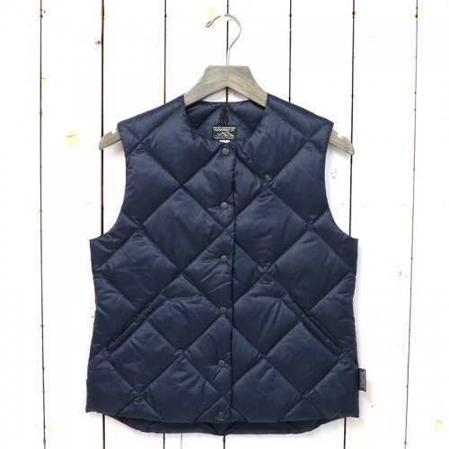 Rocky Mountain Featherbed『Women's Six Month Down Vest』(NAVY)