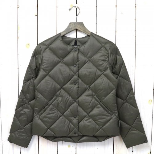 Rocky Mountain Featherbed『Women's Six Month Down Cardigan』(OLIVE)