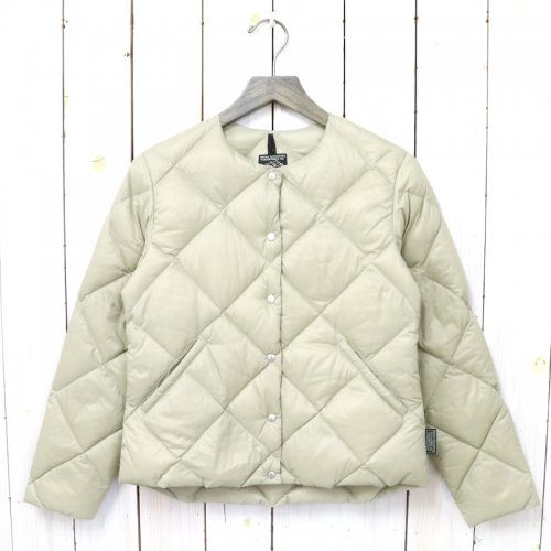 Rocky Mountain Featherbed『Women's Six Month Down Cardigan』(BEIGE)