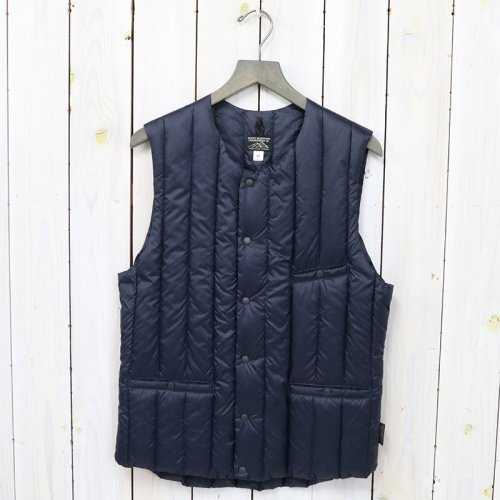 【SALE特価50%off】Rocky Mountain Featherbed『Six Month Down Vest』(NAVY)