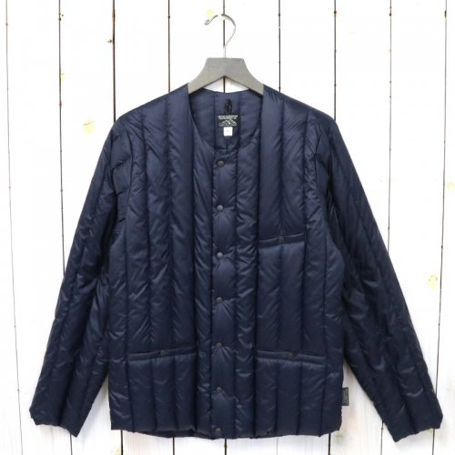 Rocky Mountain Featherbed『Six Month Down Cardigan』(NAVY)