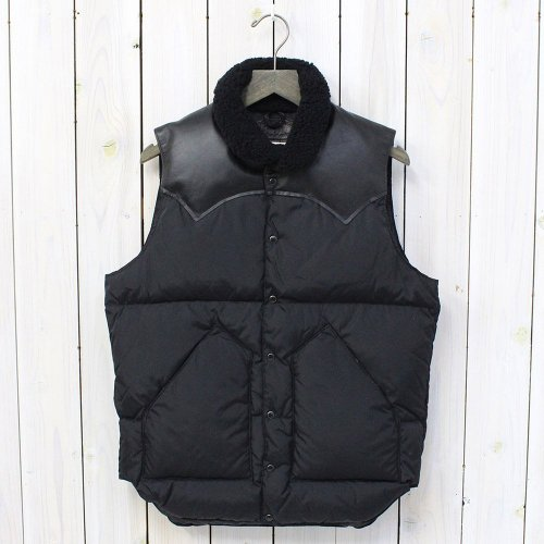 Rocky Mountain Featherbed『Christy Vest』(BLACK/BLACK)