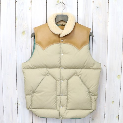 Rocky Mountain Featherbed『Christy Vest』(TAN/L.BROWN)