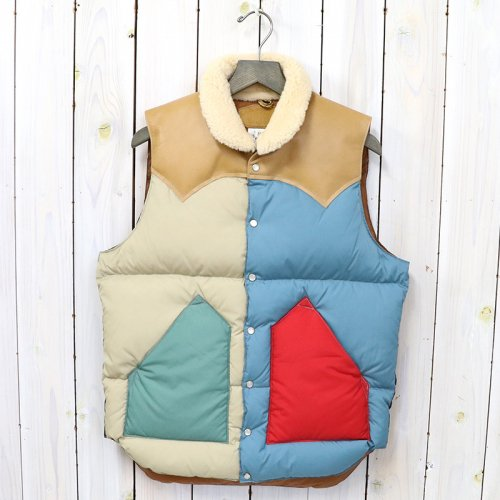 Rocky Mountain Featherbed『Christy Vest』(MULTI/L.BROWN)
