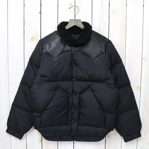 Rocky Mountain Featherbed『Christy Jacket』(BLACK/BLACK)