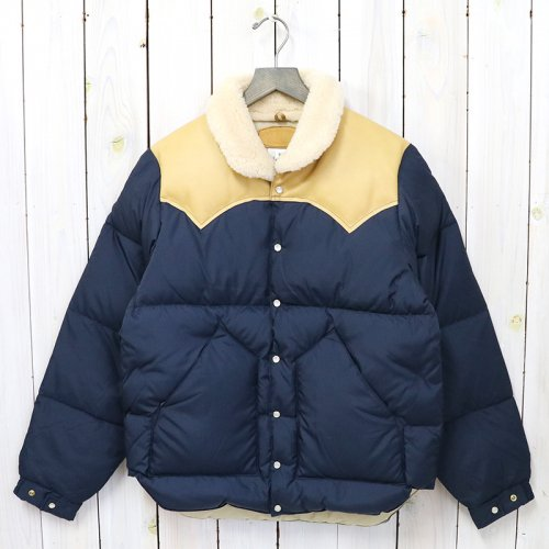 Rocky Mountain Featherbed『Christy Jacket』(NAVY/L.BROWN)