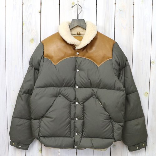 Rocky Mountain Featherbed『Christy Jacket』(OLIVE/L.BROWN)