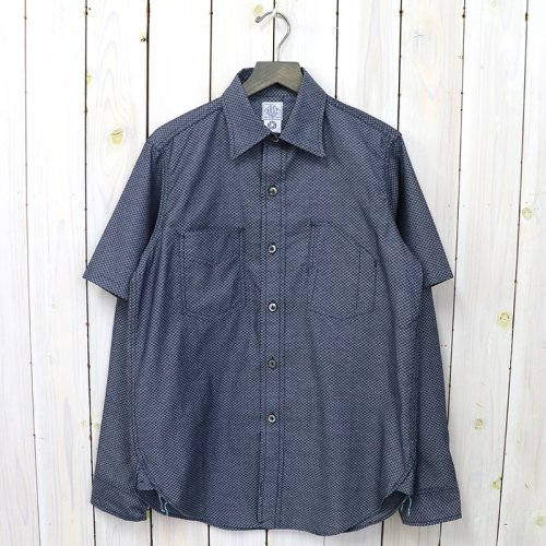 【SALE特価50%off】POST O'ALLS『1102 shirt-R +Half』(indigo 2)