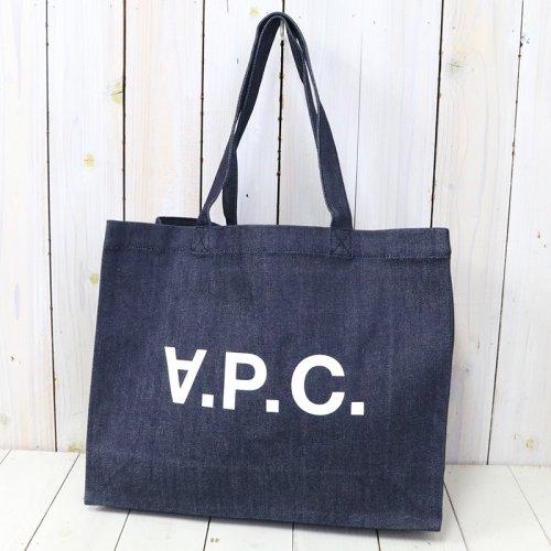 A.P.C.『DANIEL ショッピングバッグ』(INDIGO)