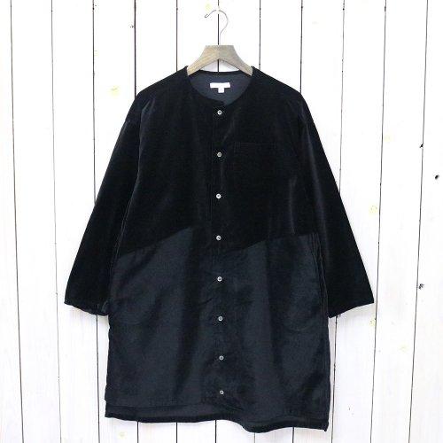 『Tunic Dress-Cotton Velveteen』(Black)