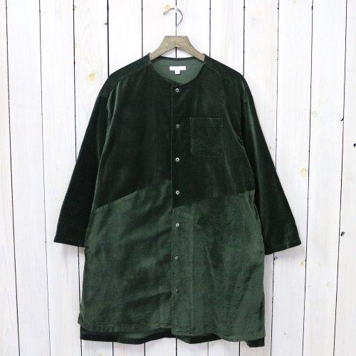 ENGINEERED GARMENTS『Tunic Dress-Cotton Velveteen』(Olive)