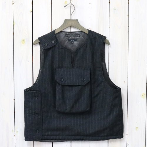 ENGINEERED GARMENTS『Cover Vest-Worsted Wool Chalk St.』