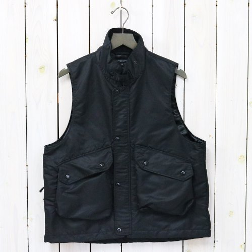 『Field Vest-Flight Satin Nylon』(Black)