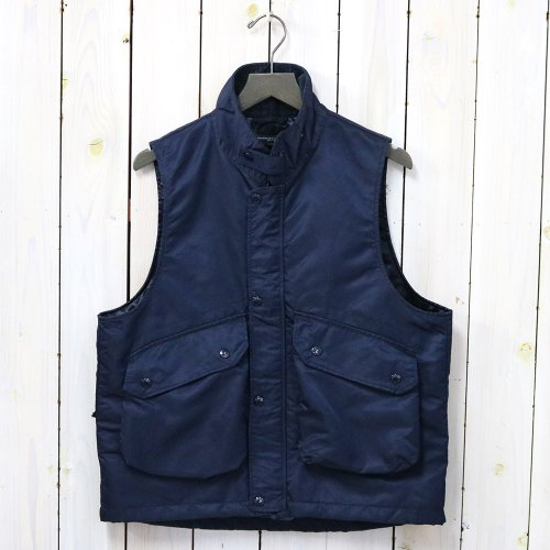 『Field Vest-Flight Satin Nylon』(Navy)