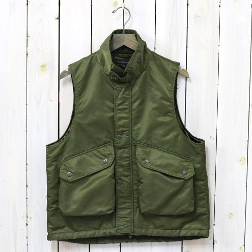 『Field Vest-Flight Satin Nylon』(Olive)