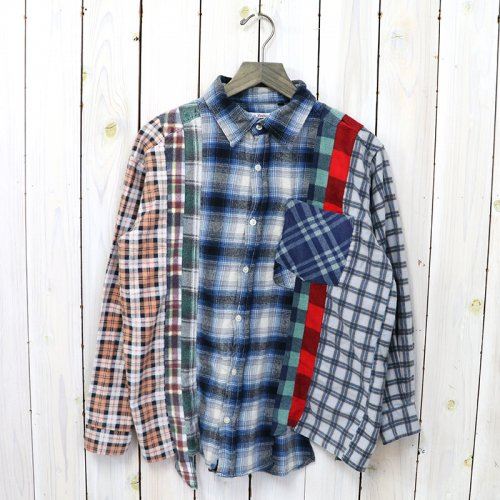 Rebuild by Needles『Flannel Shirt->7 Cuts Shirt』(Assorted)