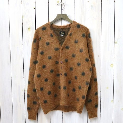 『Mohair Cardigan-Polkadot』(Brown)