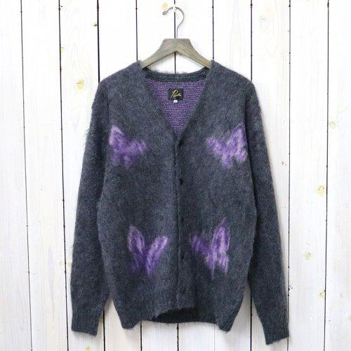 『Mohair Cardigan-Papillon』(Charcoal)