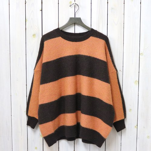 『Mohair Big Sweater-Stripe』(Dk.Brown)