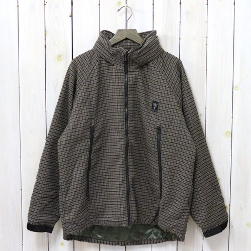 SOUTH2 WEST8『Weather Effect Jacket-Poly Gunclub Plaid』(Brown)