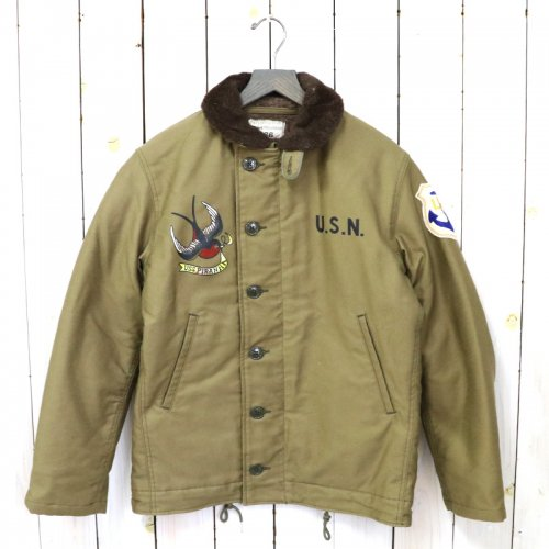 The REAL McCOY'S『N-1 KHAKI/USS PIRANHA』