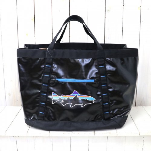 patagonia『Black Hole Gear Tote』(Black/Fitz Trout)