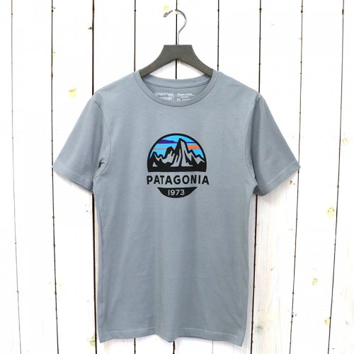 patagonia『M's Fitz Roy Scope Organic T-Shirt』(Feather Grey)