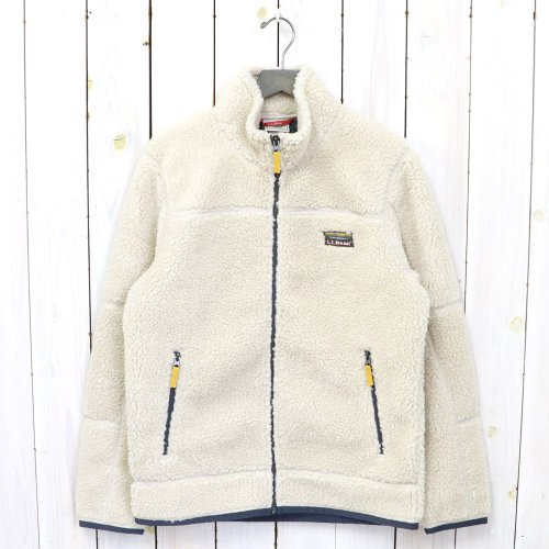 L.L.Bean『Mountain Pile Fleece Jacket』(Natural)