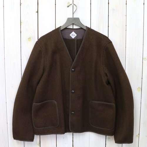 CORONA『STYLE 424 CARDIGAN JACKET』(BROWN KHAKI HEATHER)