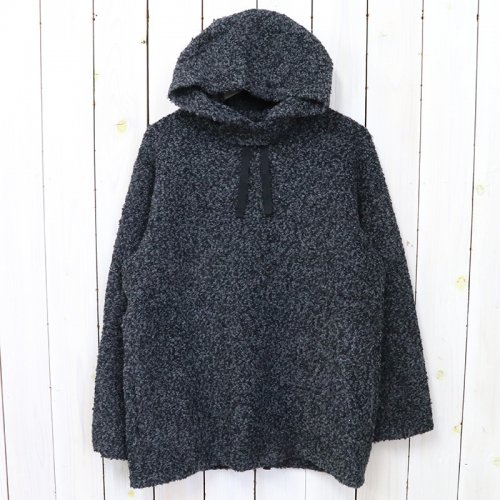 ENGINEERED GARMENTS『Long Sleeve Hoody-Curly Knit』(Black)