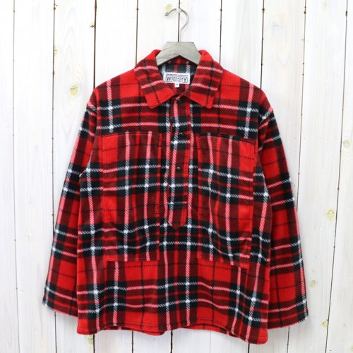 ENGINEERED GARMENTS WORKADAY『Army Shirt-Polyester Fleece』(Red Plaid)
