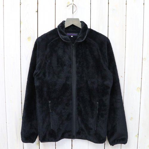 Needles Sportswear『Piping Jacket-Micro Fleece』(Black)