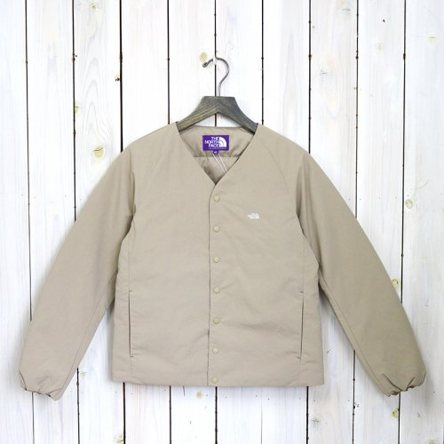 THE NORTH FACE PURPLE LABEL『Down Cardigan』(Beige)