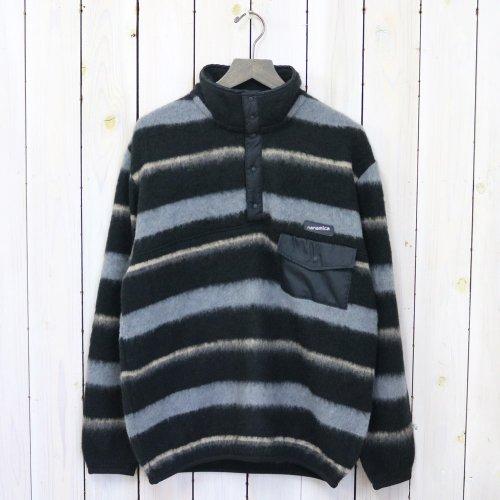 nanamica『nanamica Pullover Sweater』(Black×Charcoal)