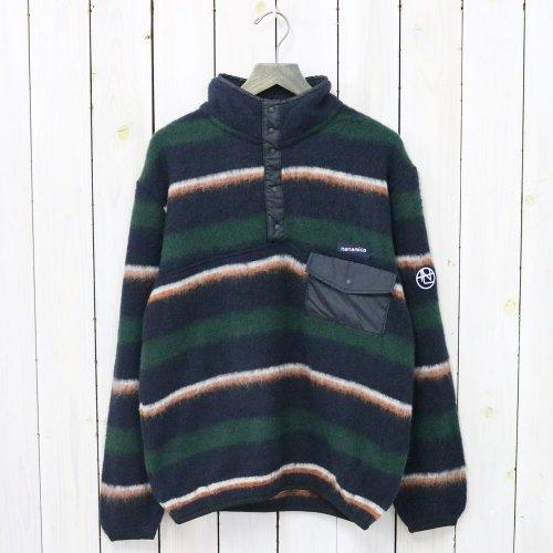 nanamica『nanamica Pullover Sweater』(Navy×Green)