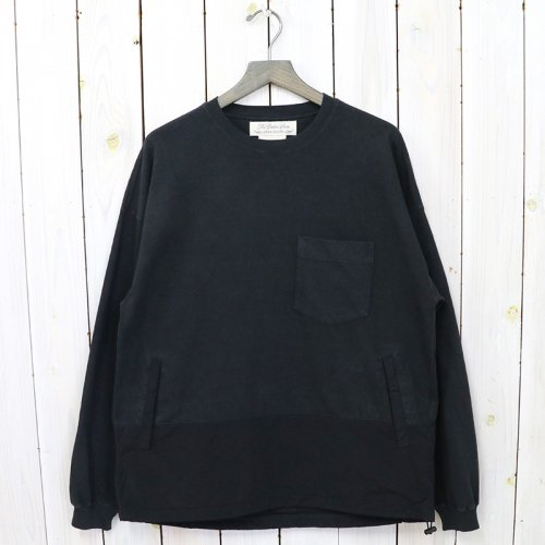 REMI RELIEF×BRIEFING『L/Sカットソー3』(BLACK)