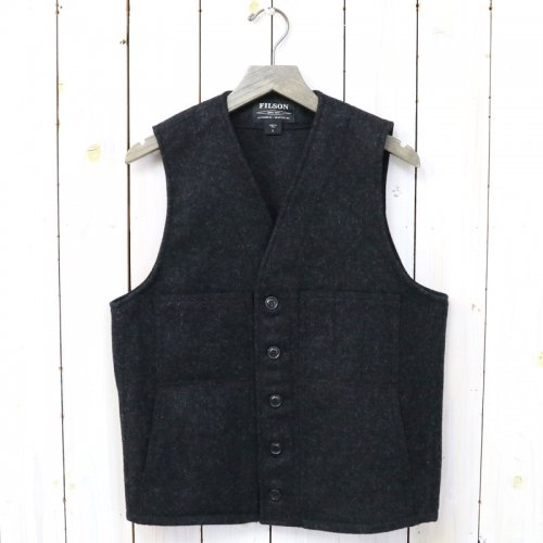 FILSON『MACKINAW WOOL VEST』(CHARCOAL)