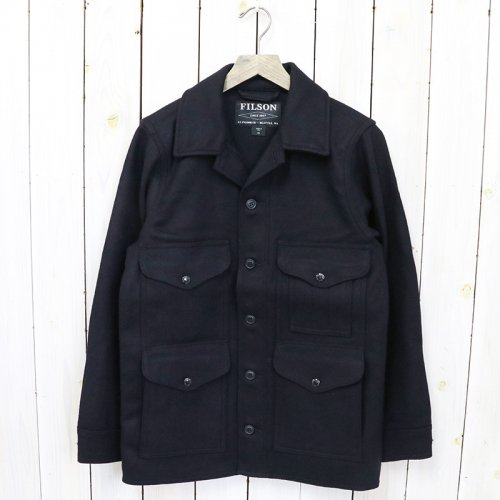 FILSON『MACKINAW WOOL CRUISER』(NAVY)