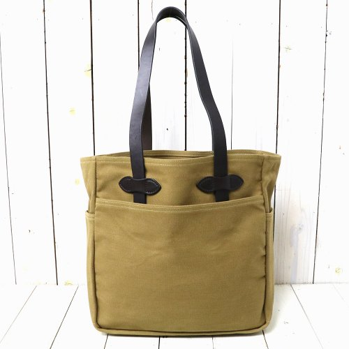 【SALE特価40%off】FILSON『TOTE BAG WITHOUT ZIPPER』(TAN)