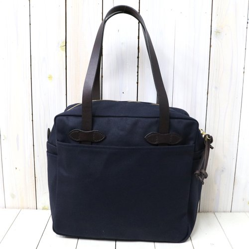 【SALE特価40%off】FILSON『TOTE BAG WITH ZIPPER』(NAVY)