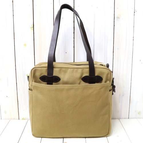 【SALE特価40%off】FILSON『TOTE BAG WITH ZIPPER』(TAN)