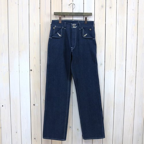 【SALE特価30%off】HEADLIGHT『9.5oz. BLUE DENIM LATE40's DUNGAREES』(N.NAVY)