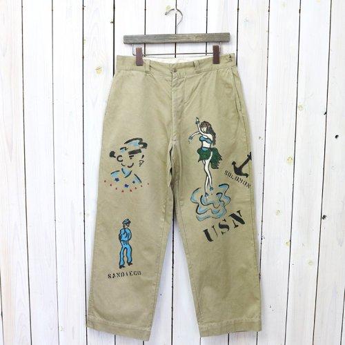 SHANANA MIL『GYPSY HAND PAINT SAILOR CHINO PANTS-33inch』