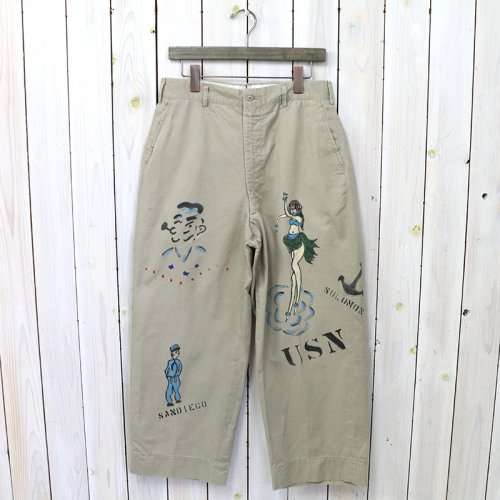 SHANANA MIL『GYPSY HAND PAINT SAILOR CHINO PANTS-33inch』
