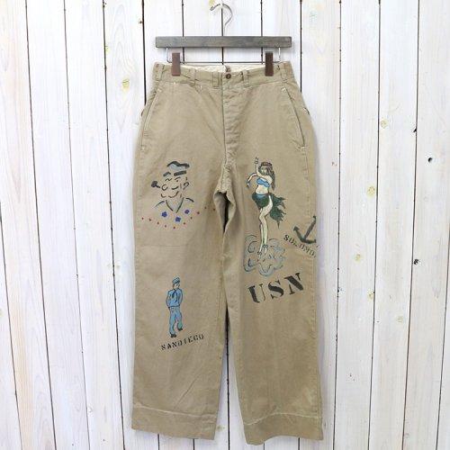 SHANANA MIL『GYPSY HAND PAINT SAILOR CHINO PANTS-32inch』