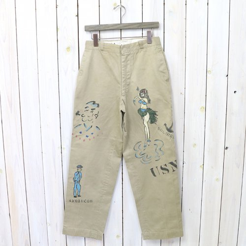 SHANANA MIL『GYPSY HAND PAINT SAILOR CHINO PANTS-31inch』