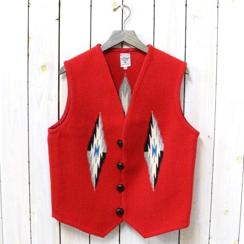 【SALE特価60%off】ORTEGA'S『Chimayo Vest』(SCARLET RED)