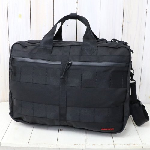 BRIEFING『TR-3 M MW WP』(BLACK)