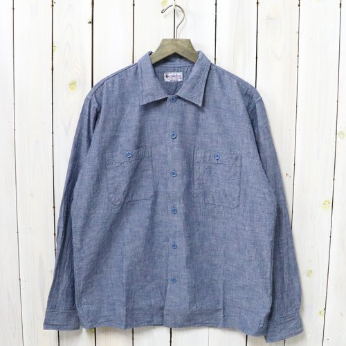 BUZZ RICKSON'S『BLUE CHAMBRAY WORK SHIRT』(BLUE)